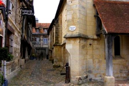 Honfleur, ruelles médiévales